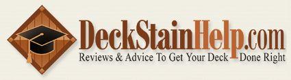Deck Stain Help