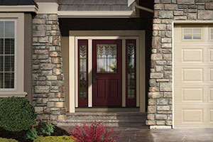 Todayu0027s Exterior Doors And Frames Come In A Variety Of Materials U2013 Steel,  Smooth Fiberglass, Wood Grain Fiberglass And Real Wood Are The Most Common.